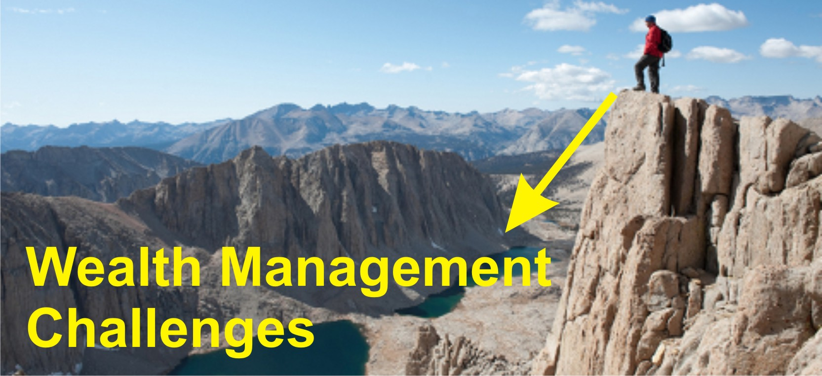 Title: Wealth Management Challenges - Description: Challenges before Wealth Management Organization