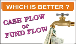 Title: Difference between Cash Flow & Fund Flow Statement - Description: Which is better, Cash Flow or Fund Flow