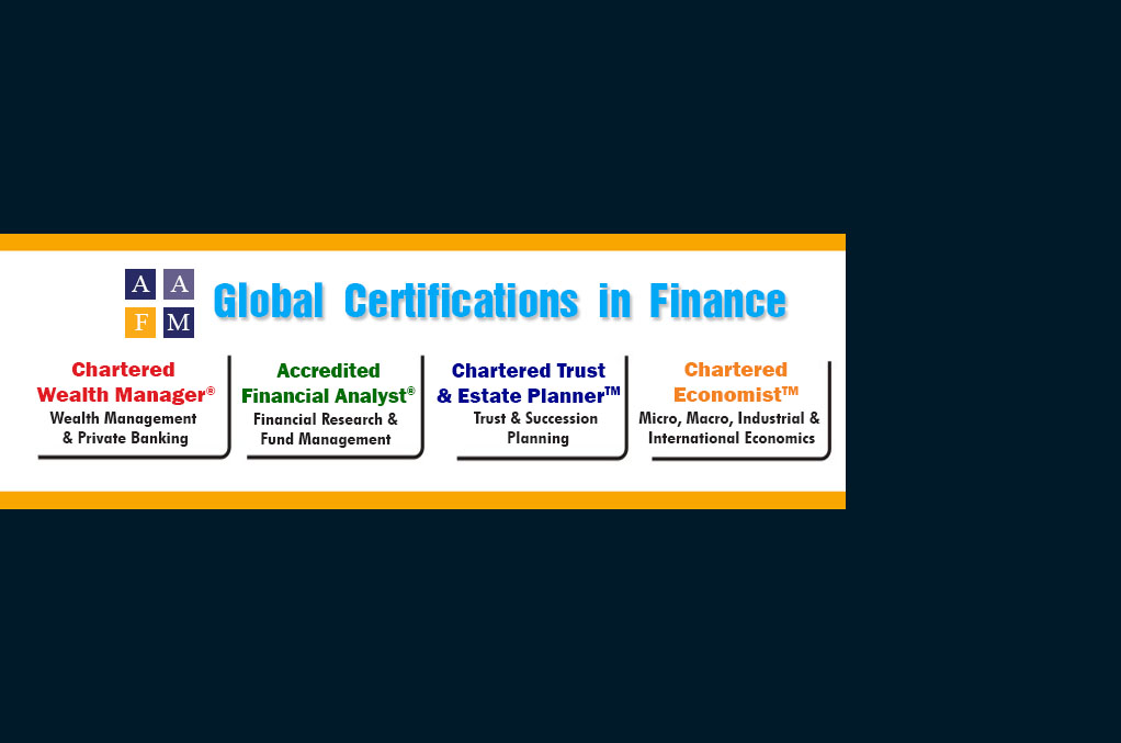 Global Certification in finance CWM