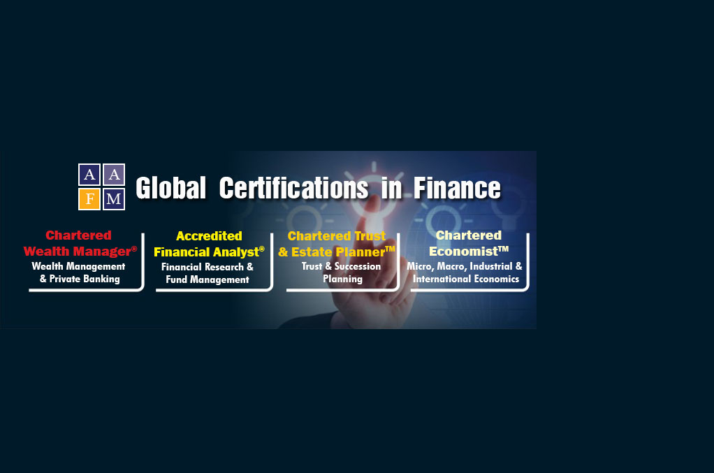 Global Certification in finance